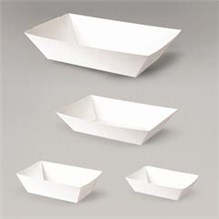 Small Food Tray Paper 1000ct