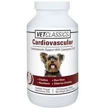 Cardiovascular Canine Chew Tabs  120ct