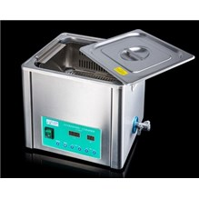 Ultrasonic Cleaner 10L With Heat, Basket, And Lid