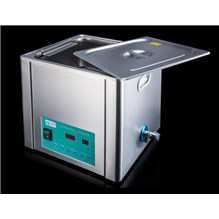 Ultrasonic Cleaner 13L With Heat, Basket, And Lid