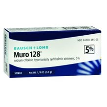 Muro-128 (Sodium Chloride) 5% Ophthalmic Ointment  3.5gm