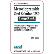 Metoclopramide Syrup 5mg/5ml 16oz