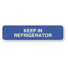 Keep In Refrigerator Label 1-5/8