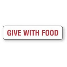 Give With Food Label 1-5/8