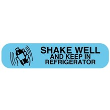 Shake Well / Refrigerate Blue Label 1000ct