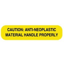 Caution Anti-Neoplastic Label 1-5/8