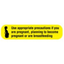 Do Not Handle If Pregnant Label 1-5/8