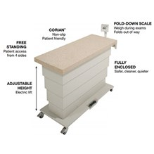 Olympic Elite Exam Lift Table with scale 51203