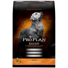 Purina Pro Plan Dog Shredded Chicken And Rice 18lb