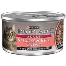 Purina Pro Plan Adult Cat Salmon And Rice 3oz