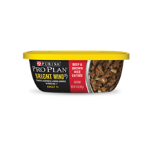 Purina Pro Plan Adult (7+)  Beef And Brown Rice 10oz