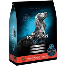 Purina Pro Plan Adult Dog FOCUS Sensitive Skin & Stomach Lamb and Oat Meal 16lb.