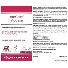 Biocalm Mousse 200ml Pump