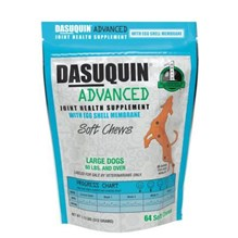 Dasuquin Advanced with Egg Large Dog (384ct total) 6 x 64