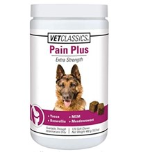 Pain Plus Soft Chews For Dogs 120ct