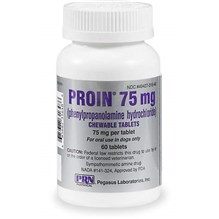 Proin Chew Tabs 75mg 60ct